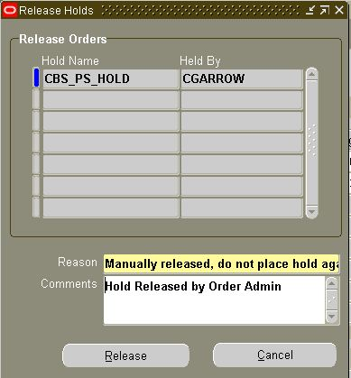 How to Release Order Holds in Oracle EBS   oracle e-business